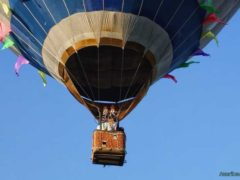 Над Таллином на воздушном шаре