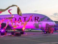 Компания от Qatar Airways на День Влюбленных