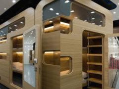 Созданы комнаты Sleepbox на вокзале Баку