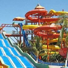 Аквапарки на бакинских пляжах