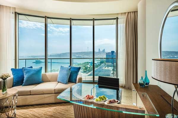 Absheron Baku oteli qonağ otagi