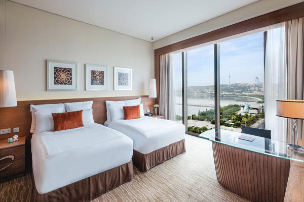 Marriott Absheron Baku Hotel iki nəfərlik otağ