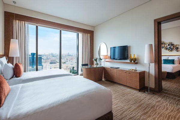 Marriott Absheron Baku Hotel yatag otaği