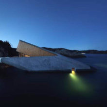 Avropanın ilk sualtı restoranı Norveçdə açıldı