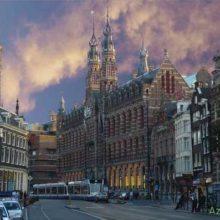 Город Амстердам — Голландия