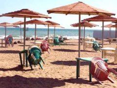 На пляжах Баку начались рейды