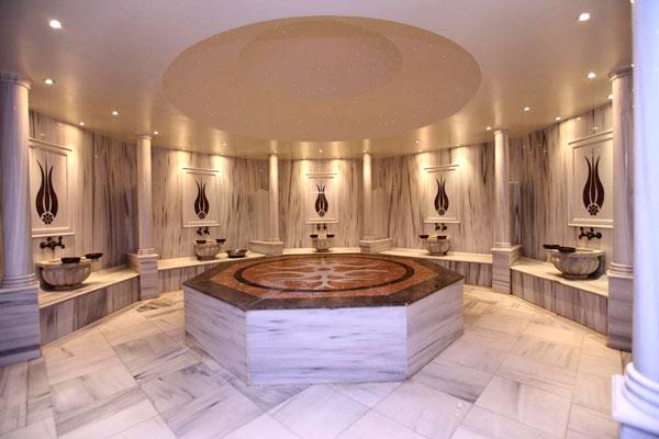 Сауна отеля Qafqaz Riverside Hotel