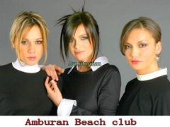 Группа Serebro 28 августа в Amburan Beach Club