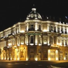 Красивый ночной Баку