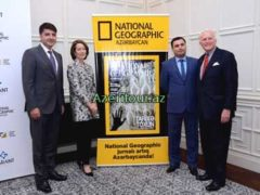 Журнала National Geographic теперь в Азербайджане