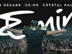 Певец Emin 4 декабря даст концерт в Баку «EMIN и друзья»