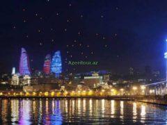 Баку — ночной бульвар