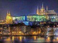 Город Прага Чехия