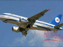 Авиарейс Баку-Бишкек-Баку с 24 октября