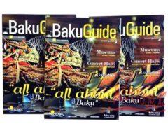 Baku Guide октябрьский номер путеводителя Баку