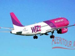 WizzAir возобновит рейсы Будапешт-Баку