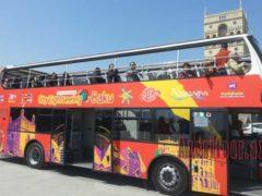 Прогулка на туристическом автобусе по Баку