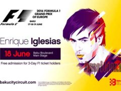 Энрики Иглесиас даст концерт в Баку 18 июня
