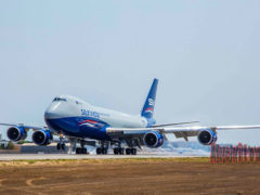 Silk Way Airlines пополнился лайнером Boeing 747-8F