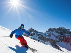 Канатная дорога и лыжи в Шахдаг