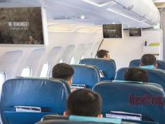 Видеоролик о Ходжалинской трагедии на рейсах AZAL