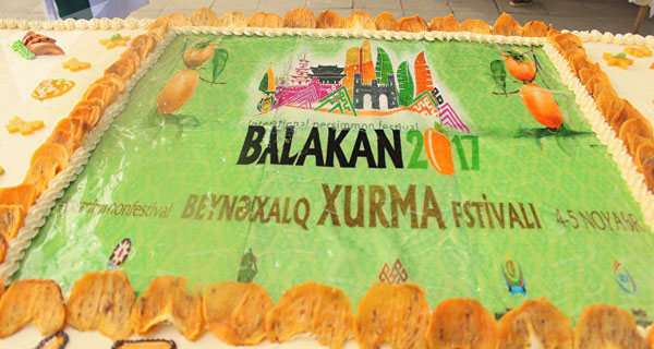 Фестиваль хурмы в Белаканах