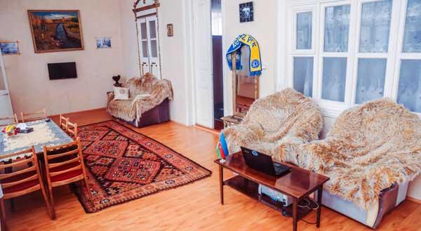 Гостиная хостела Old Ganja Hostel