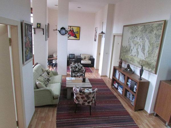 Гостиная хостела Shir Hostel Baku