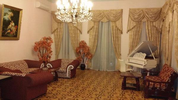 Гостиная отеля Baku Palace Hotel