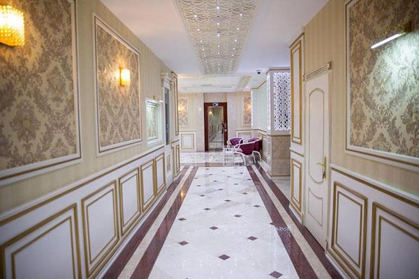 Холл отеля Mugan Park Hotel
