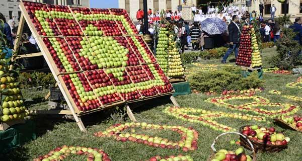 Праздник яблок и ковров в Губе