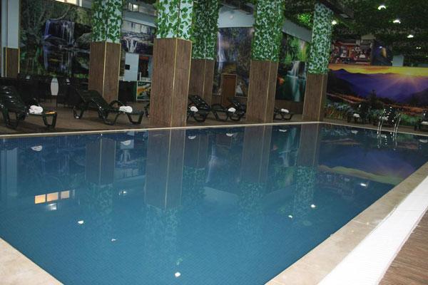 Бассейн отеля Shahdag Guba Hotel & Spa