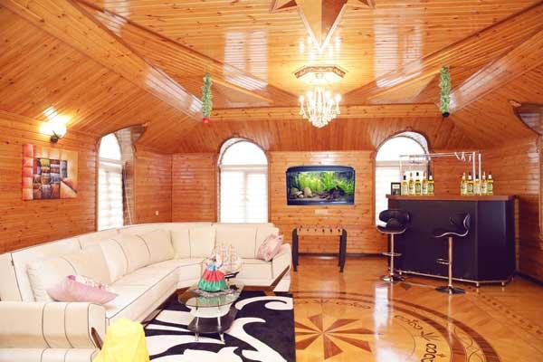 Гостиная хостела Baygan