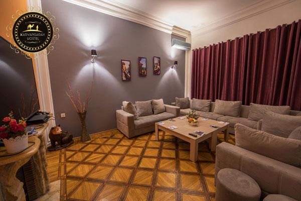 Гостиная хостела Karvansaray Hostel