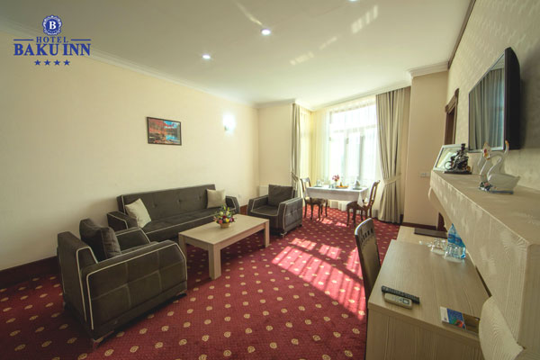 Гостиная комната отеля Baku Inn Hotel