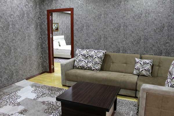 Гостиная отеля Shahdag Guba Hotel & Spa
