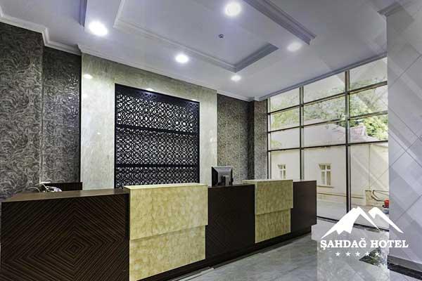 Холл отеля Shahdag Guba Hotel & Spa