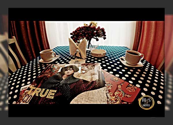 Кафе отеля Rigs Hotel