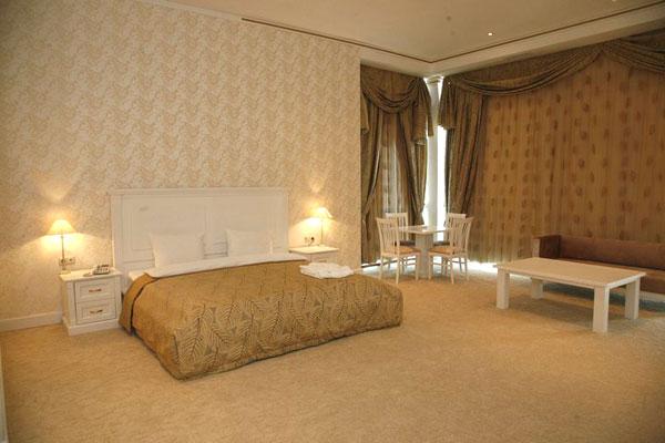 Комната отеля Novxani Olimpik Hotel