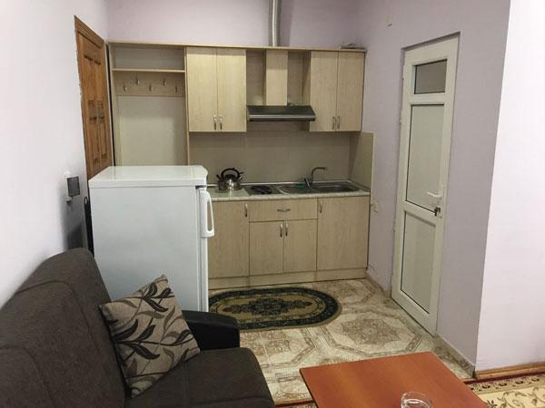 Кухня отеля Qala Qonaq Evi
