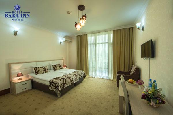 Номер twin отеля Baku Inn Hotel