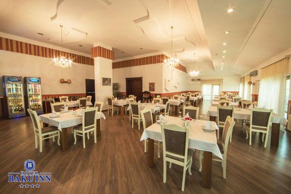 Ресторан отеля Baku Inn Hotel