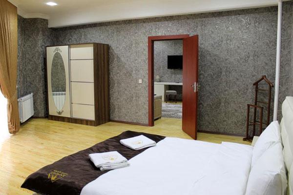 Спальная отеля Shahdag Guba Hotel & Spa