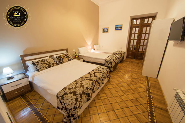 Трехместный номер хостела Karvansaray Hostel