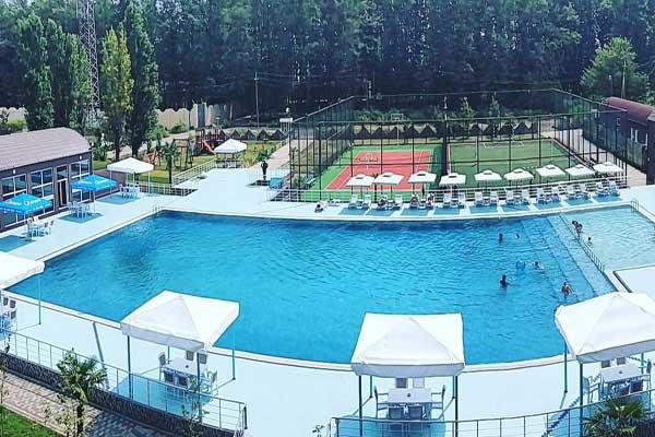Бассейн отеля Palmalife Lankaran Resort