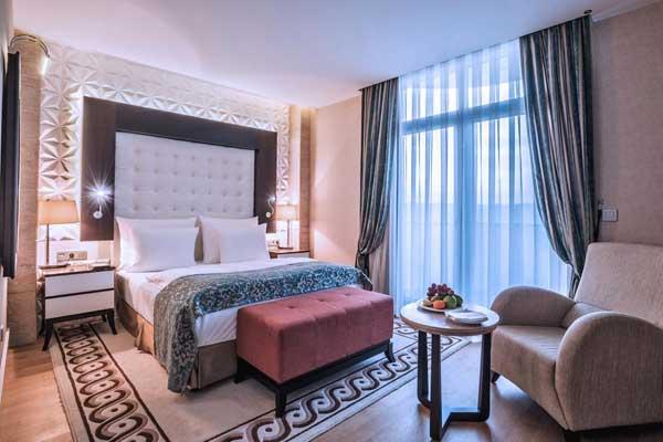 Спальная отеля