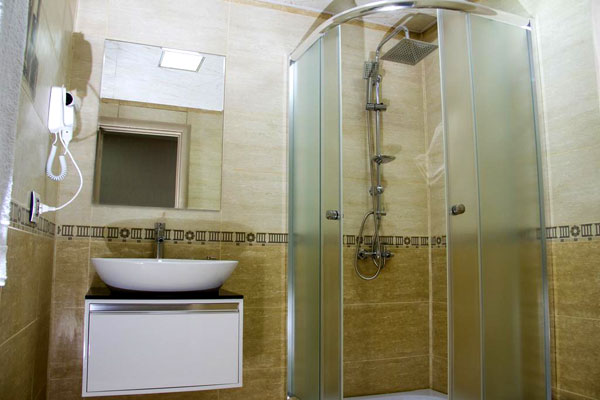 Ванная отеля Continent Hotel Baku