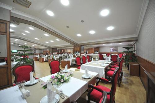 Ресторан отеля Tebriz Hotel Nakhchivan