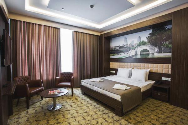 Спальня отеля Баку