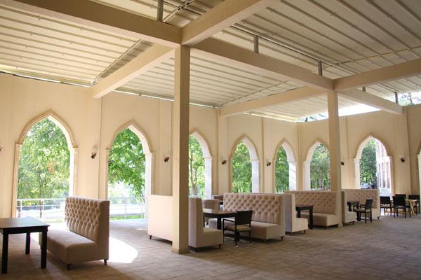 Веранда отеля Мархал Шеки